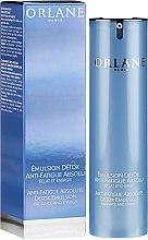 Parfums et Produits cosmétiques Emulsion anti-fatigue détoxifiante visage - Orlane Anti-Fatigue Absolute Detox Emulsion