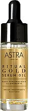 Parfums et Produits cosmétiques Base de maquillage à l'or - Astra Ritual Gold Serum Oil