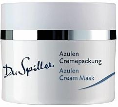Parfums et Produits cosmétiques Crème-masque à l'azulène pour visage - Dr. Spiller Azulen Cream Mask