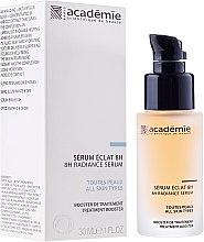 Parfums et Produits cosmétiques Sérum à l'extrait d'abricot et acide hyaluronique pour visage - Academie 8h Radiance Serum