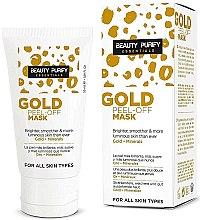 Parfums et Produits cosmétiques Masque visage peel-off purifiant, or et minéraux - Diet Esthetic Beauty Purify Gold Peel-Off Mask