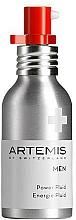 Parfums et Produits cosmétiques Fluide à l'huile d'amande douce pour visage - Artemis of Switzerland Men Power Fluid SPF 15