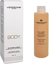 Parfums et Produits cosmétiques Gel amincissant et anti-gonflement pour jambes - Verdeoasi Lightweight Legs Gel Slimming Anti-Swelling Action