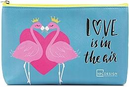 Parfums et Produits cosmétiques Trousse de toilette avec des flamants - IDC Design Accessories Cosmetig Bag