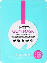 Parfums et Produits cosmétiques Masque tissu pour visage - Borntree Natto Gum Mask