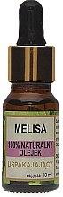 Parfums et Produits cosmétiques Huile de mélisse 100% naturelle - Biomika Melisa Oil