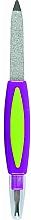 Parfums et Produits cosmétiques Lime à ongles avec coupe-cuticules, 77791, violet - Top Choice