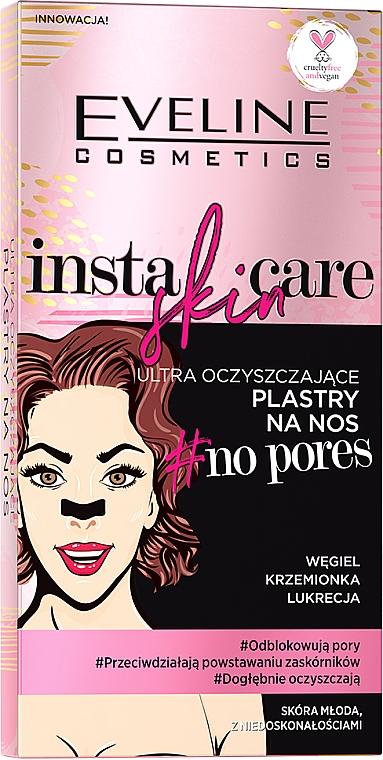 Patchs nettoyants pour nez - Eveline Cosmetics Insta Skin Care #No Pores