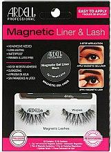 Parfums et Produits cosmétiques Kit - Magnetic Lash & Liner Lash Wispies (pinceau-eyeliner/2g + 2 paires de faux cils magnétiques)