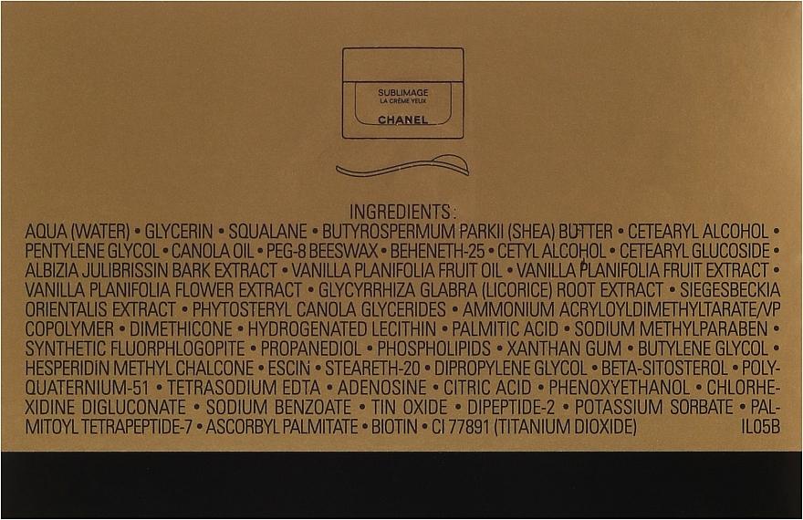 Crème contour des yeux - Chanel Sublimage Eye Cream — Photo N3
