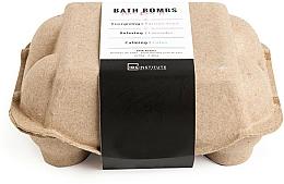 Parfums et Produits cosmétiques Bombes de bain, Lavande , Fruit de la Passion et Lotus - IDC Institute Pure Energy Bath Bombs Lavender & Passion Fruit & Lotus (6x70g)