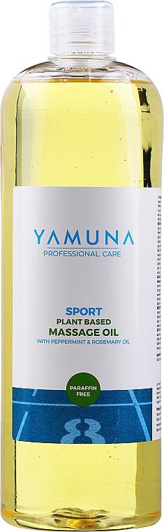Huile de massage à l'huile de romarin et de menthe - Yamuna Peppermint Rosemary Vegetable Massage Oil