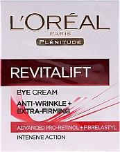 Parfums et Produits cosmétiques Crème à la caféine et protéine de soja pour contour des yeux - L'Oreal Paris Revitalift