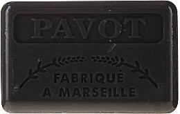 Parfums et Produits cosmétiques Savon de Marseille Pavot - Foufour Savonnette Marseillaise Pavot