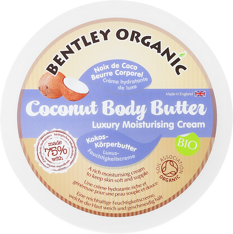 Beurre corporel à la noix de coco - Bentley Organic BodyButter — Photo N1