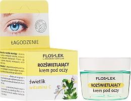 Parfums et Produits cosmétiques Crème éclaircissante à la vitamine C pour le contour des yeux - Floslek