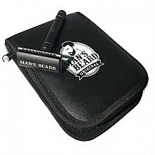 Parfums et Produits cosmétiques Kit de rasage Black Edition - Man's Beard Black Edition Safety Razor