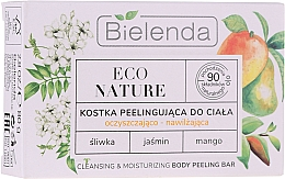 Parfums et Produits cosmétiques Exfoliant à l'extrait de jasmin pour corps - Bielenda Eco Nature Cleansing & Moisturizing Body Peeling Bar
