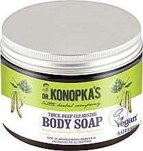 Parfums et Produits cosmétiques Savon au charbon actif pour corps - Dr. Konopka's Deep Cleansing Thick Body Soap