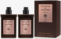Parfums et Produits cosmétiques Acqua di Parma Colonia Ambra Travel Spray Refills - Eau de Cologne (2x30ml/recharges)