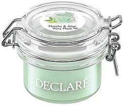 Parfums et Produits cosmétiques Masque à l'aloe vera pour visage - Declare Matcha and Aloe Vera Mask