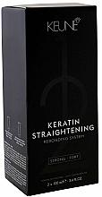 Parfums et Produits cosmétiques Traitement à la kératine pour le lissage des cheveux - Keune Keratin Straightening Rebonding System Strong