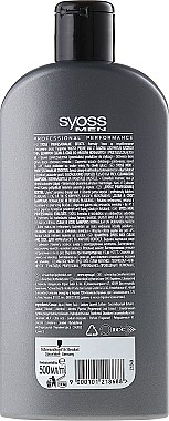 Shampooing pour cheveux normaux à gras - Syoss Men Cool & Clean Shampoon — Photo N2