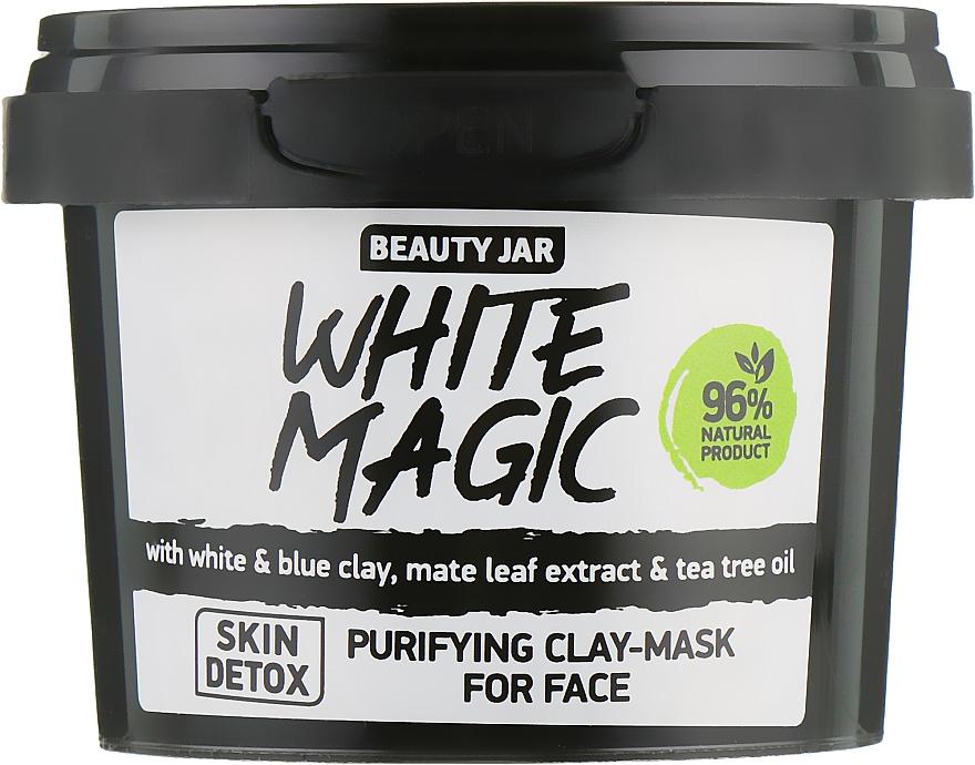 Masque à l'huile d'arbre à thé pour visage - Beauty Jar White Magic — Photo N2