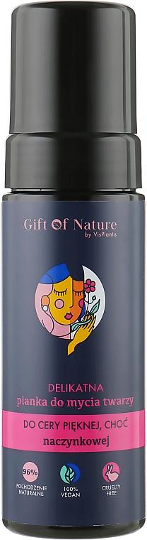 Mousse nettoyante à l'acide lactique pour visage - Vis Plantis Gift of Nature
