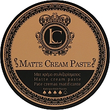 Parfums et Produits cosmétiques Pâte coiffante, fixation forte - Lavish Care Matte Cream Paste
