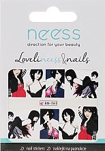 Parfums et Produits cosmétiques Autocollants pour ongles, 3687, BN-261 - Neess