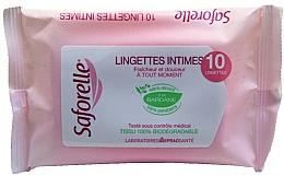 Parfums et Produits cosmétiques Lingettes intimes - Saforelle Biodegradable Intimate Wipes