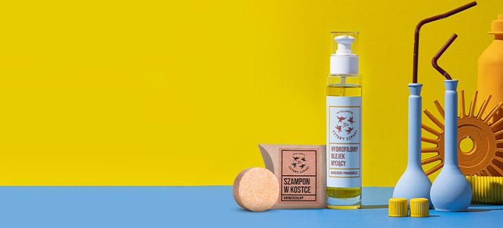 Pour tout achat de produits Cztery Szpaki dès 16 €, recevez en cadeau un shampooing solide universel