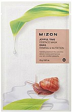 Parfums et Produits cosmétiques Masque à l'extrait d'escargot pour visage - Mizon Joyful Time Essence Mask Snail