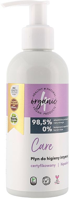 Fluide d'hygiène intime - 4Organic Care Intimate Gel