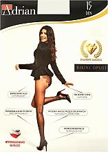 Parfums et Produits cosmétiques Collant pour femme, Bikini Oplot, 15 Den, claro - Adrian