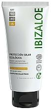 Parfums et Produits cosmétiques Crème solaire - Ibizaloe Organic Sun Protection SPF 15