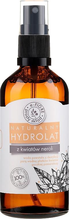 Hydrolat de fleurs de néroli - E-Fiore Hydrolat