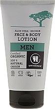 Parfums et Produits cosmétiques Lotion bio à l'aloès et baobab pour visage et corps - Urtekram Men Aloe Vera Baobab Face & Body Lotion