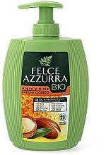 Parfums et Produits cosmétiques Savon liquide à l'huile d'argan et miel - Felce Azzurra BIO Argan & Honey Liquid Soap