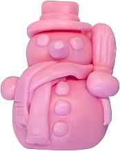 Parfums et Produits cosmétiques Savon naturel artisanal bonhomme de neige parfum cerise, rose - LaQ Happy Soaps Natural Soap