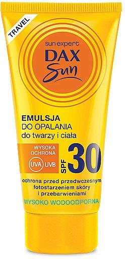 Émulsion solaire waterproof pour visage et corps - Dax Sun Emulsion SPF30 — Photo N1
