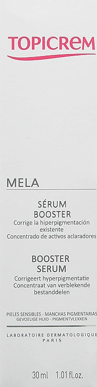 Sérum-booster anti-pigmentation pour visage - Topicrem Mela Booster Serum — Photo N2