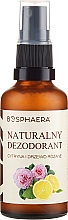 Parfums et Produits cosmétiques Déodorant spray naturel au citron et bois de rose - Bosphaera