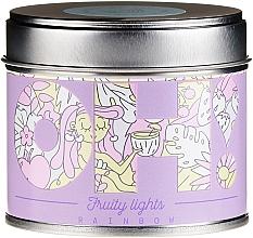 Parfums et Produits cosmétiques Bougie parfumée - Oh!Tomi Fruity Lights Rainbow Candle
