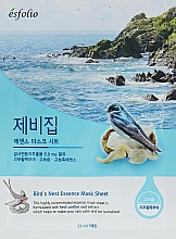 Parfums et Produits cosmétiques Masque tissu à l'extrait de nid d'hirondelle et de ginseng pour visage - Esfolio Bird's Nest Essence Mask Sheet