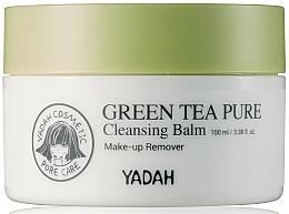 Parfums et Produits cosmétiques Baume nettoyant au thé vert pour visage - Yadah Green Tea Pure Cleansing Balm