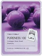 Parfums et Produits cosmétiques Masque tissu au collagène pour visage - Tony Moly Pureness 100 Collagen Mask Sheet