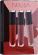 Parfums et Produits cosmétiques Coffret (rouge à lèvres/3x6ml) - NoUBA Millebaci Travel Set №3