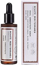 Parfums et Produits cosmétiques Sérum anti-âge à l'extrait de bave d'escargot pour visage - Beaute Mediterranea Snail Concentrate Serum